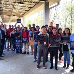 Vance High School Students Spent their Spring Break Learning STEM skills!
