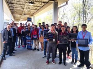 Vance High School Students Spent their Spring Break skills!